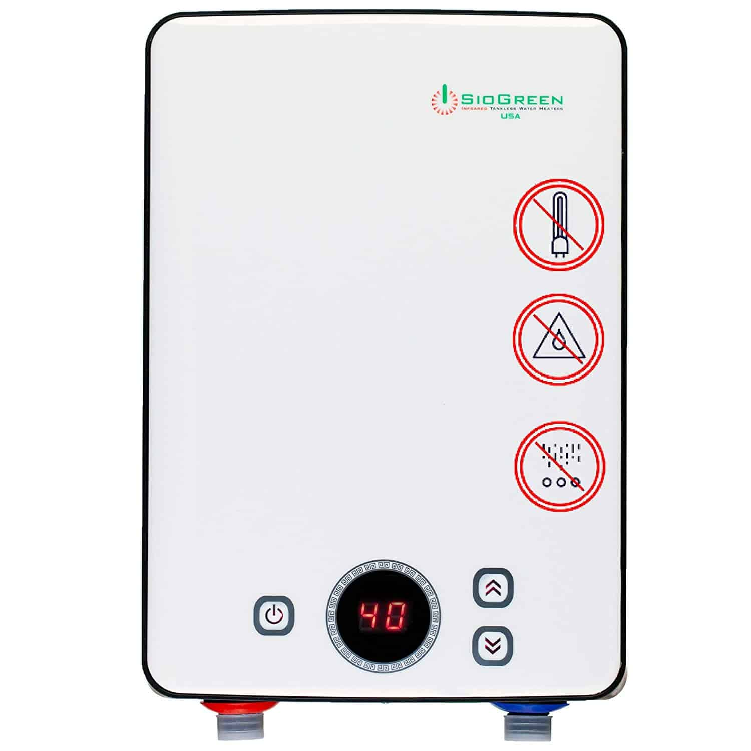 Siogreen Ir260 Tankless Water Heater Review Just Home